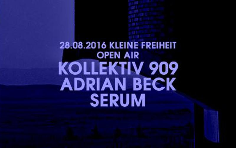 Serum meets 909 Kollektiv Münster Kleine Freiheit Osnabrück